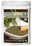 Organic Green Stevia Leaf Powder (1/2 lb) by Naturevibe Botanicals, Gluten-Free, Raw & Non-GMO (8 ounces)