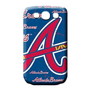 samsung galaxy s3 Brand Snap For phone Fashion Design phone carrying case cover atlanta braves mlb baseball