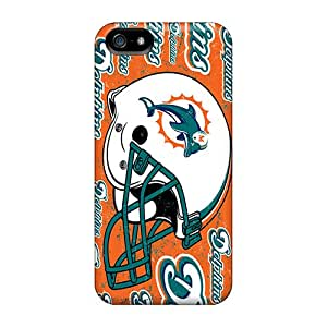 Hot Snap-on Miami Dolphins Hard Cover Case/ Protective Case For Iphone 5/5s
