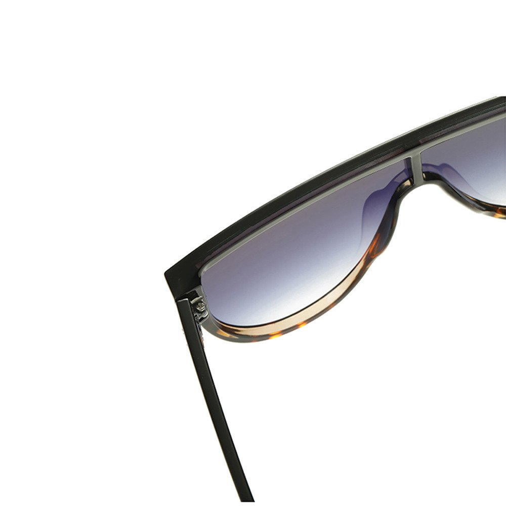 Amazon.com: Berryhot Gafas de sol de gran tamaño sin llantas ...