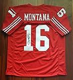Joe Montana Autographed Signed Jersey San Francisco 49ers JSA