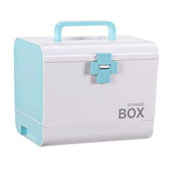 Caja de pastillas PP 26.5 * 18.5 * 22cm caja de almacenamiento de ...