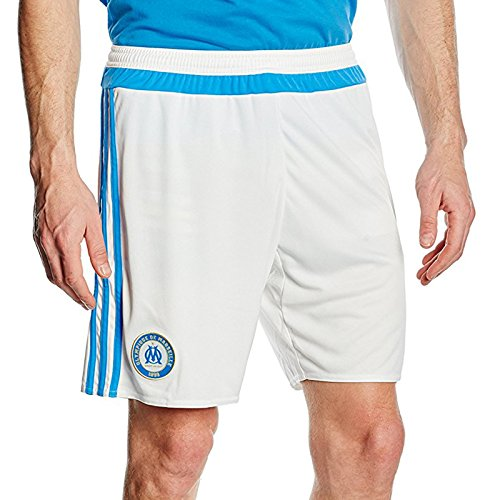 fan products of adidas Mens Olympique Marseille Football Home Shorts - XL