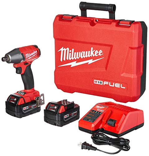 Milwaukee 2755-22 M18 FUEL 1 2-Inch Compact Impact Wrench with Pin Detent Kit
