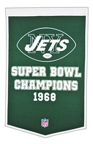 (Winning Streak NFL New York Jets Dynasty Banner)