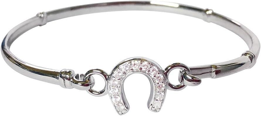 fer a cheval bracelet argent