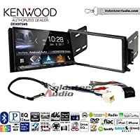 Volunteer Audio Kenwood DDX9704S Double Din Radio Install Kit with Apple Carplay Android Auto Fits 1998-2002 Continental