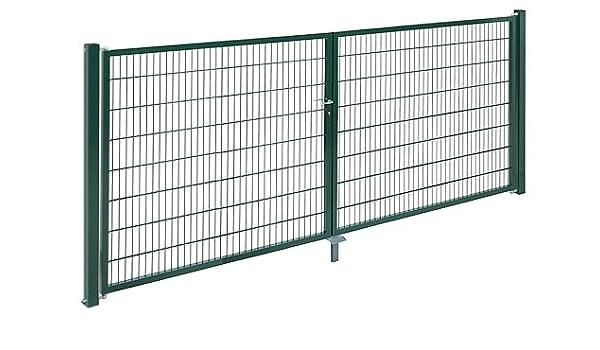 Nevera doble para puerta (galvanizado - Altura 180 cm, ancho de 2 ...
