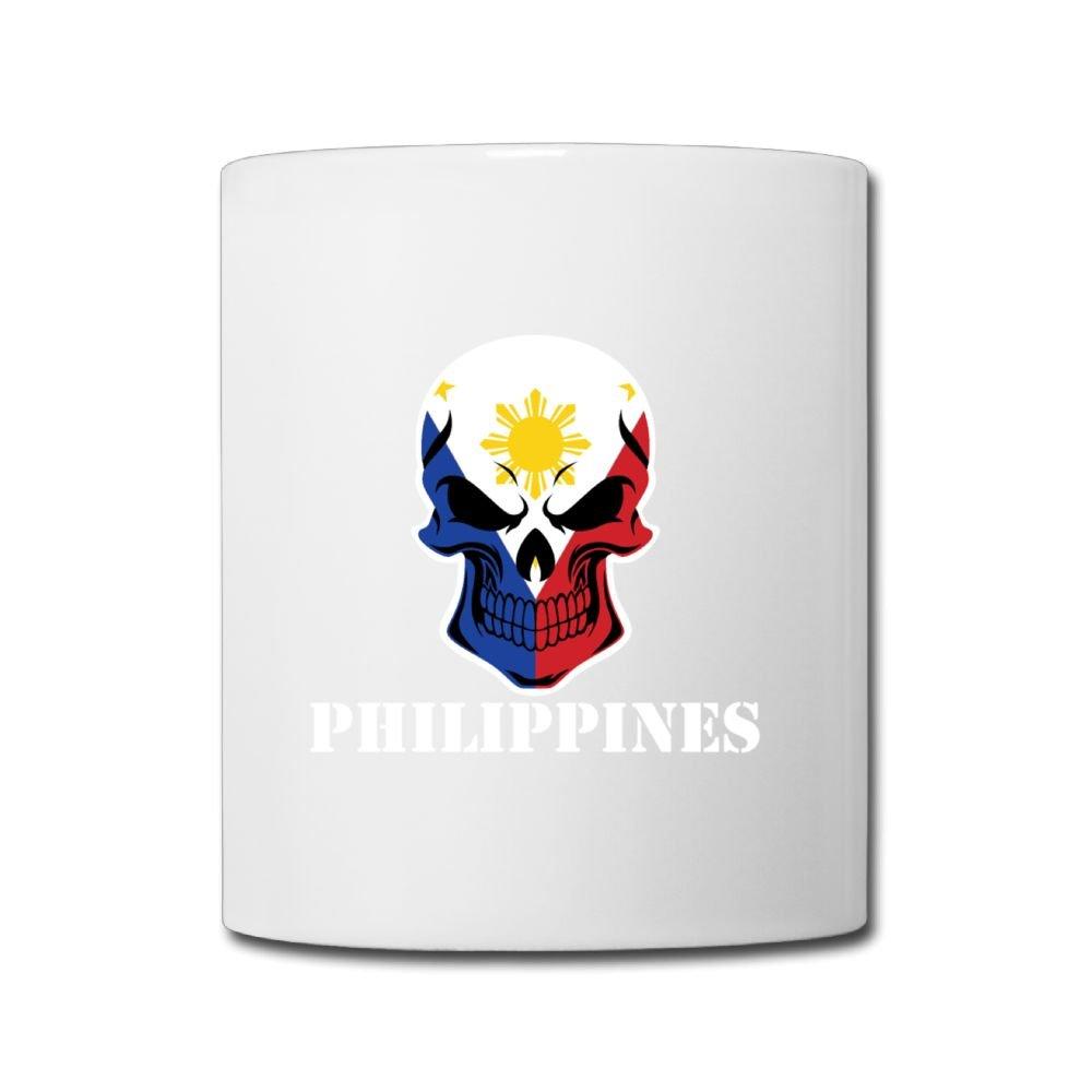 Amazon Philippines Skull Custom Coffee Mug 11 Oz Girls Birthday Gifts Tea Cup Home Kitchen