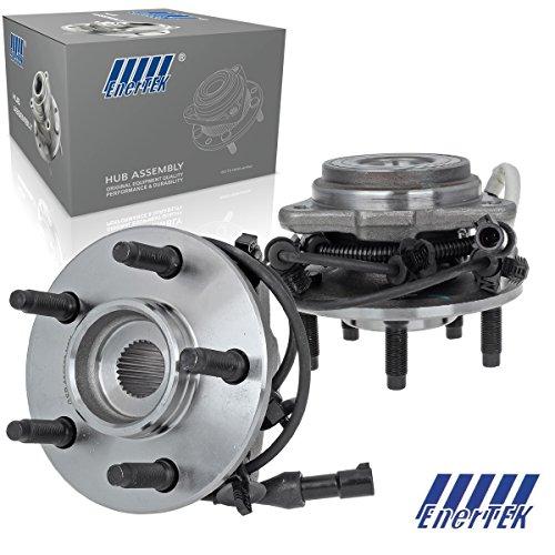 Hub Bearing Assembly, Left Right Front Polished Wheel Hub & Bearing Assembly Fit For 1995-2009 Ford Explorer Ranger, 2000-2009 Mazda B4000/B3000, 1997-2001 Mercury Mountaineer -  ENERTEK, 169482