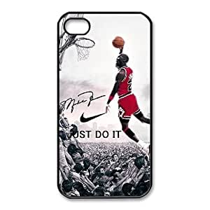 iphone4 4s case(TPU), michael jordan Cell phone case Black for iphone4 4s - HHKL3340212