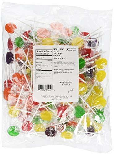Candy Sucker Lollipop Assortment 144