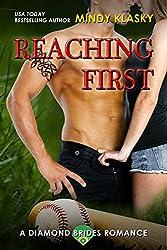 Reaching First: A Hot Baseball Romance (The Diamond Brides series Book 3)