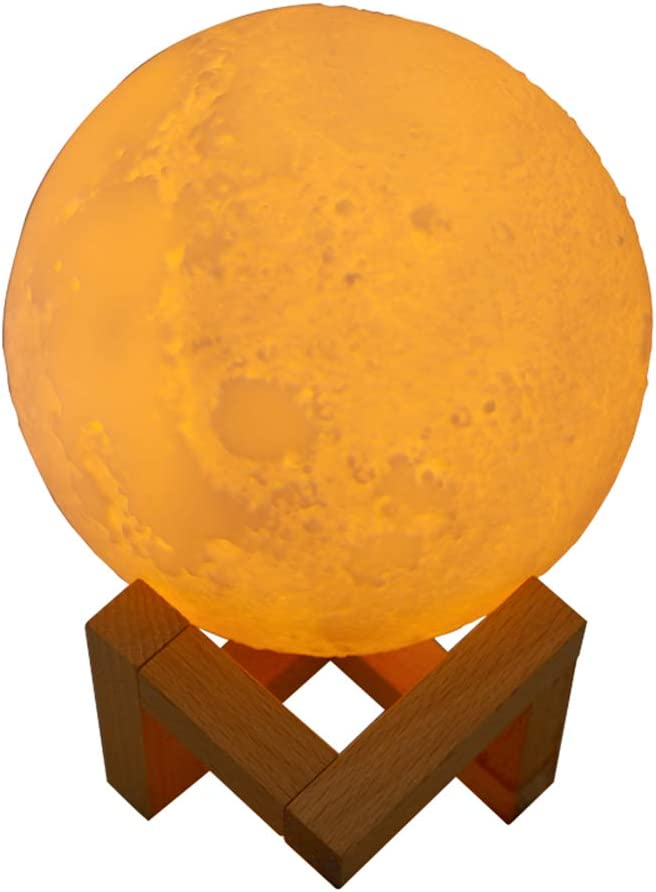 800ml Lunar Lamp Humidifier USB Mini Air Purification and Water Oil Diffuser a a