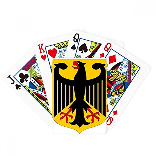 beatChong Germany Europe National Emblem Poker Playing Card Tabletop Board Game Gift by beatChong