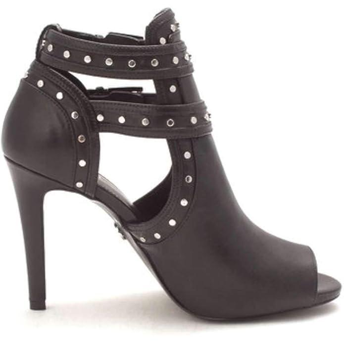 0047af5361 MICHAEL by Michael Kors Blaze Olive Suede Open Toe Bootie: Amazon.co.uk:  Shoes & Bags