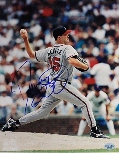 - Denny Neagle Atlanta Braves Signed 8x10 Autographed MLB Photo 17I