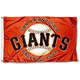 San Francisco Giants Orange Flag and Banner