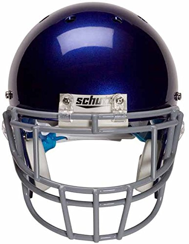 Schutt Sports Super Pro Carbon Steel Varsity EGOP-II Football Faceguard, Royal Blue (Varsity Football Helmet)