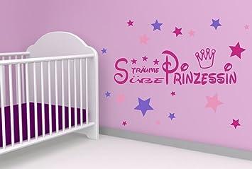 Amazonde Pinkes Wandtattoo Kinderzimmer Kind Baby Text Süße