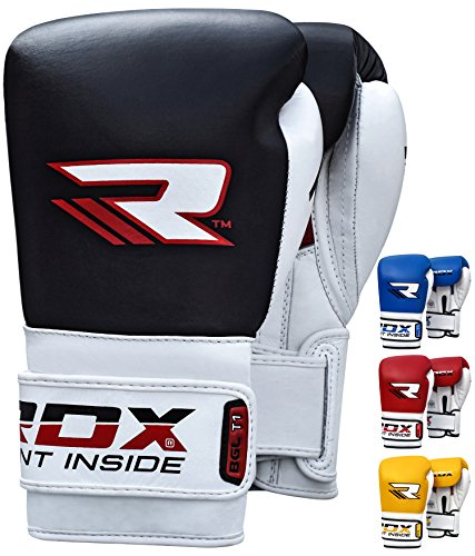 RDX Elite Boxing Gloves Muay Thai Training Genuine Cow Hide Leather Sparring Punching Bag Mitts kickboxing Fighting