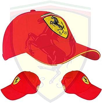 Gorra oficial Scuderia Ferrari – Ferrari Logo cosido a mano ...