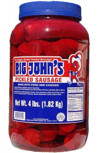 - Big John's Pickled Sausage - Gallon