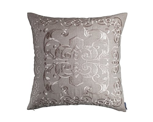 Lili Alessandra L277LHCH Mozart Pillow, Earth/Champagne, 26