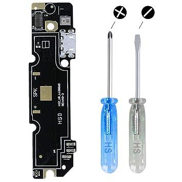 MMOBIEL Conector Dock Puerto Cargador Compatible con Xiaomi Redmi Note 3 Pro Cable Flexible Incl. Destornilladores y Púa