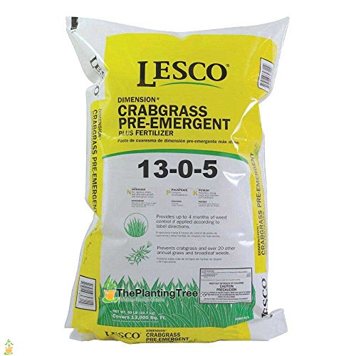 lesco-pre-emergent-with-fertilizer-13-0-5-50lbs-bulk-bag-weed-prevention-and-lawn-feed