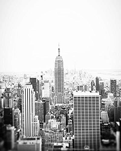 Amazon.com: Empire State Building Black and White