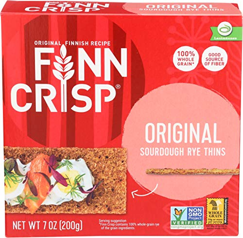 Flavor Original Chew Durable - Finn Crisp Crispbread, Original, 7-Ounce (Pack of 9)