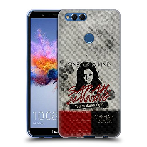Official Orphan Black Sarah Posters Soft Gel Case for Huawei Honor 7X