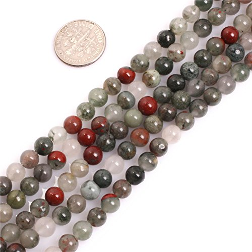 Aaa Furniture Wholesale (AAA Round Natural Africa BloodStone Beads for Jewelry Making 15'' (6MM))