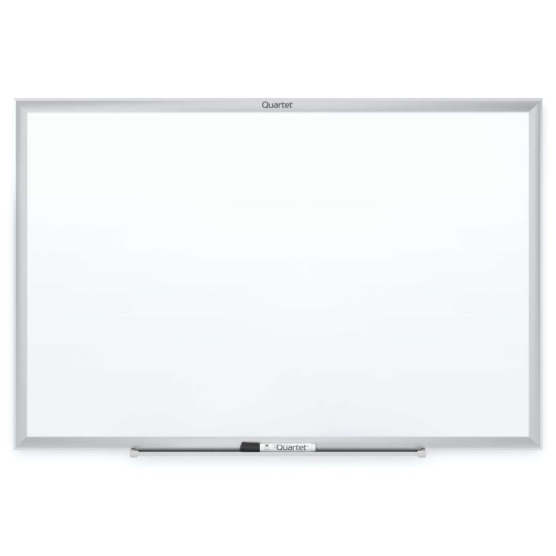 Quartet S537 Classic Series Melamine Whiteboard, 72 x 48, Silver Aluminum Frame by Quartet
