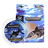 Bravefishermen Super Strong Pe Braided Fishing Line 8LB to100LB And 100Yard to 500Yard (Blue Camo, 500Yard/50LB) Review