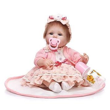 Hechos A Mano Realista Reborn Bebé Muñecas Simulación Chica ...