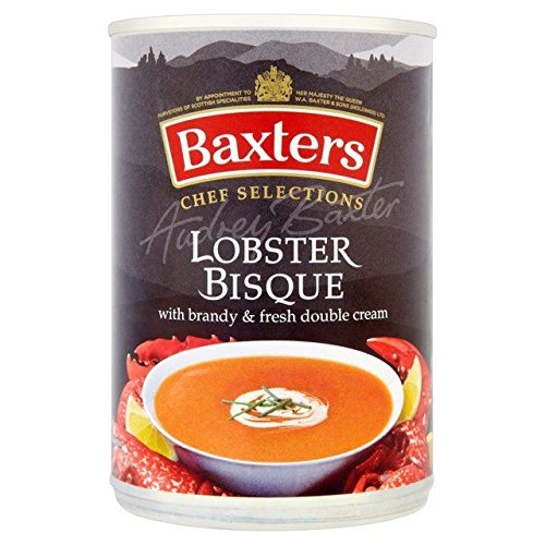 Baxters Luxury Lobster Bisque Soup - 415g (0.91lbs) Creamy Lobster Bisque