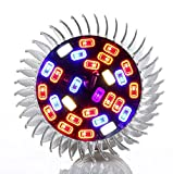 LED Grow Light Bulb | 28 W | Full Spectrum | Plant Light | High Efficiency Lighting for Garden, Greenhouse and Hydroponic Aquatic Plants