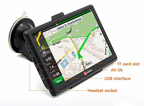 New 7 Inch Hd Car GPS Navigation Fm 8gb/256m Ddr/800mhz 2015 Map Free Upgrade Russia/belarus/spain/ - Ferrari North Europe