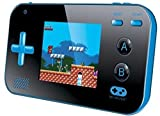 "My Arcade Gamer V Portable Gaming System - 220 Built-In Retro Style Games and 2.4"" LCD Screen – Blue/Black"