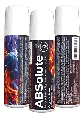 MyLife's - ABSolute Workout Enhancer | Topical Anti-Cellulite Slimming Oil | Thermal Accelerator | AB Sculpting Fat Burning Gel | Fitness & Weight Loss Formula | Made from Effective Toning Ingredients