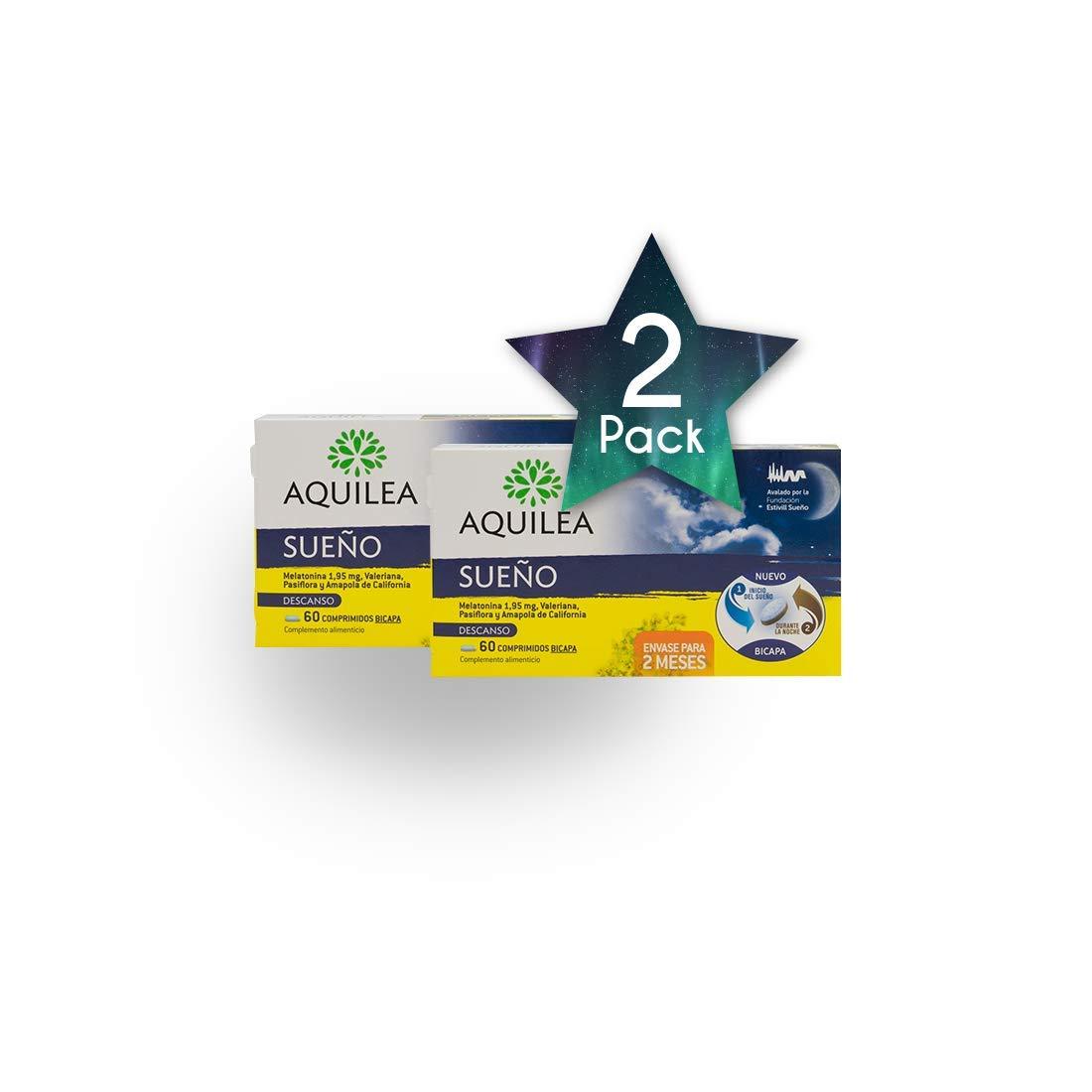 Amazon.com: 2PACKS AQUILEA Sleep 60 Tabs – Health Care ...