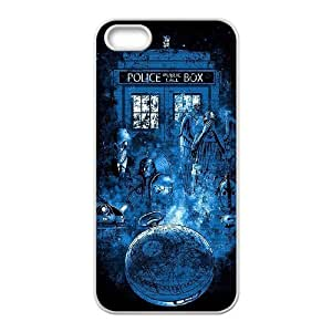 Popular Doctor Who Watercolor Tardis Phone Case Protective Case 228 For Apple Iphone 5 5S Cases At ERZHOU Tech Store