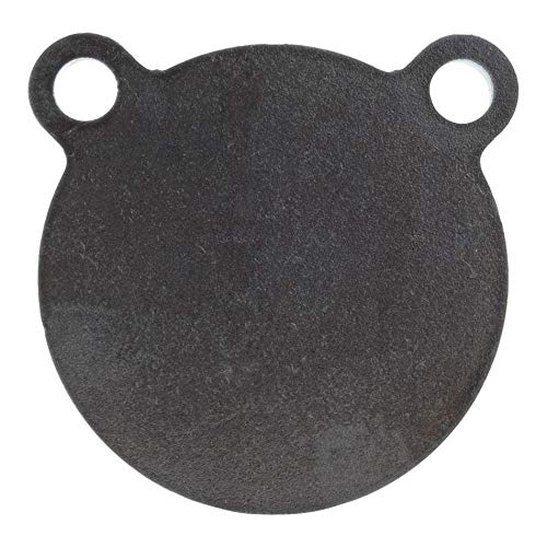 (ShootingTargets7 - AR500 Steel Gong Target - 4 x 1/4 inch for Pistols and Handguns - Laser Cut USA Steel)