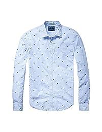Scotch & Soda Longsleeve Cotton Mens Shirt