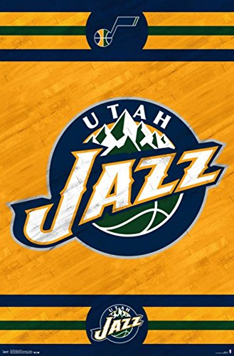 Utah Jazz - Logo 14 Poster
