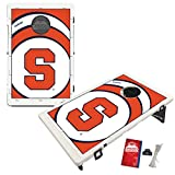 Syracuse University Orange Baggo Bean Bag Toss Cornhole Game Vortex Design