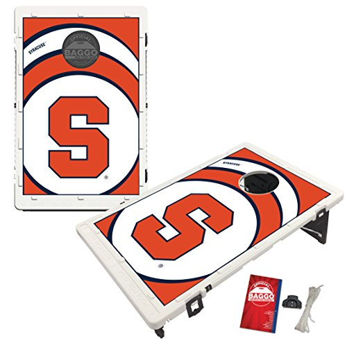 Syracuse University Orange Baggo Bean Bag Toss Cornhole Game Vortex Design by Victory Tailgate