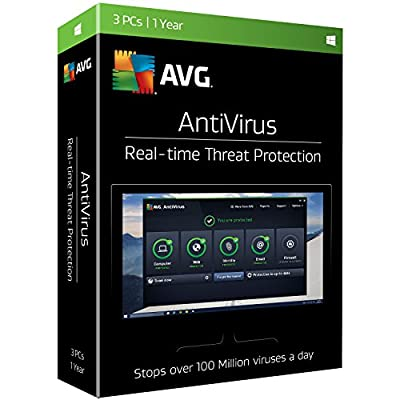 AVG AntiVirus 3 Users 1 Year [Online Code]